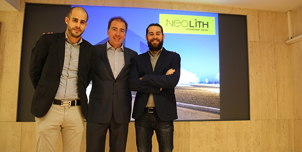 De izda a drcha: Joan Freixa, Aitor Sancho y Vicente Giménez.