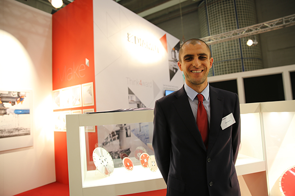 Sergio Nicolai, responsable de marketing en Diamut.