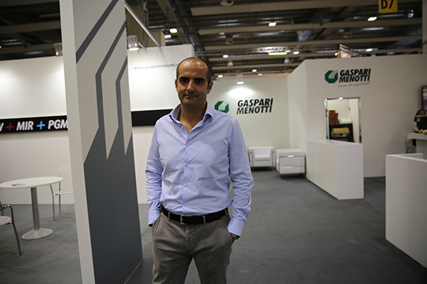 Stefano Roberti, director de ventas y marketing de  Gaspari Menotti.