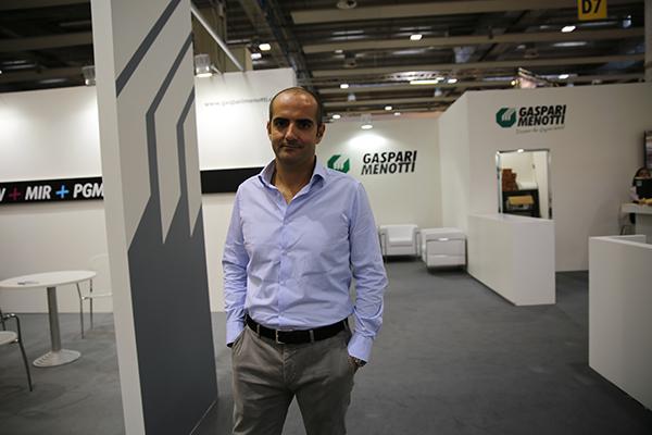 Stefano Roberti, director de ventas y marketing de  Gaspari Menotti.