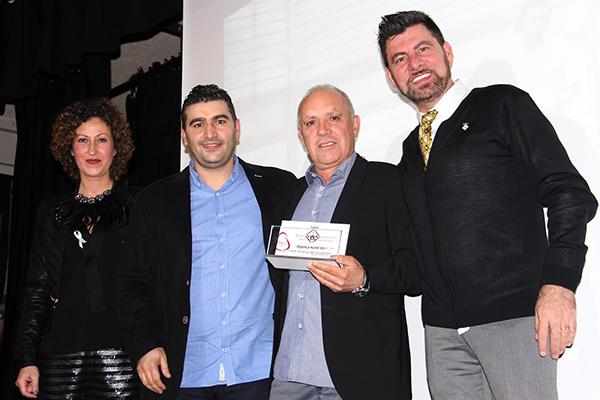 Mármoles Hermanos Moratonas premiada en la Noche del Impulso Empresarial