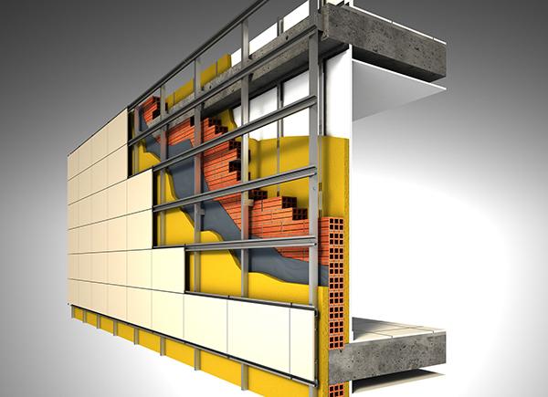 Cu nto cuesta una fachada ventilada y qu criterios - Revestimientos de fachadas precios ...