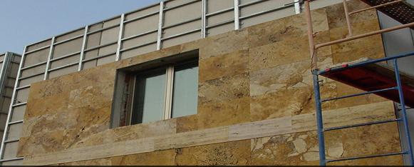 Precio piedra caliza para fachadas transportes de paneles de madera - Aplacado piedra fachada ...