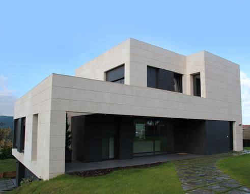 Cu nto cuesta una fachada ventilada y qu criterios - Piedra caliza para fachadas ...