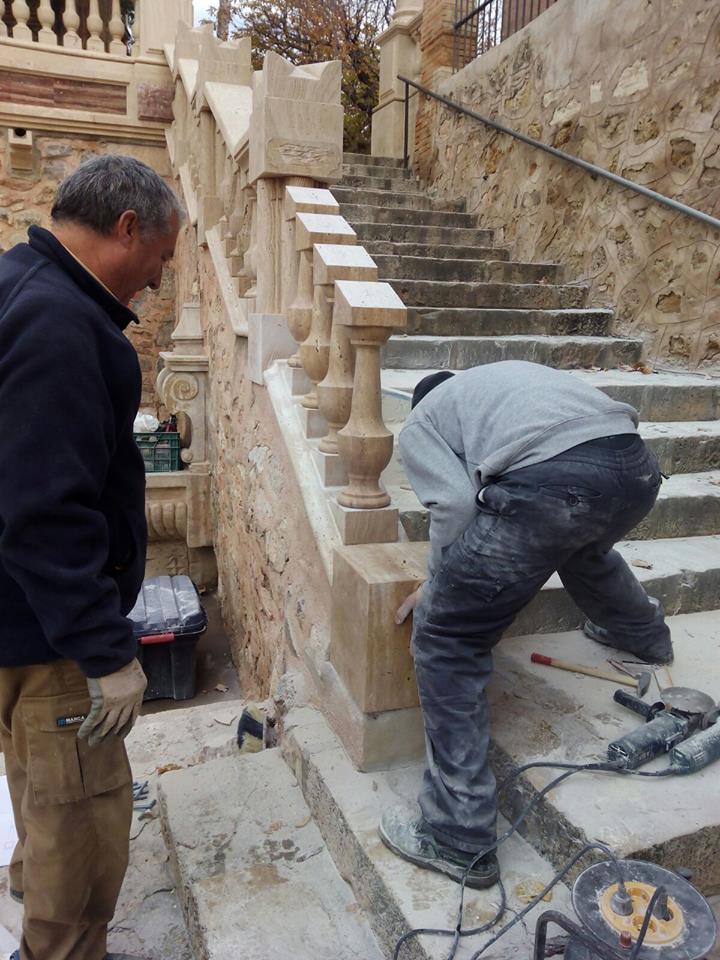 reparacion escalera en segorbe