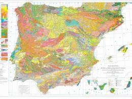 mapa geologico y minero