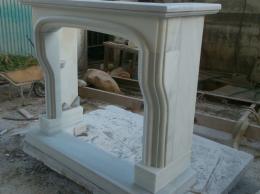 chimena artesania del marmol