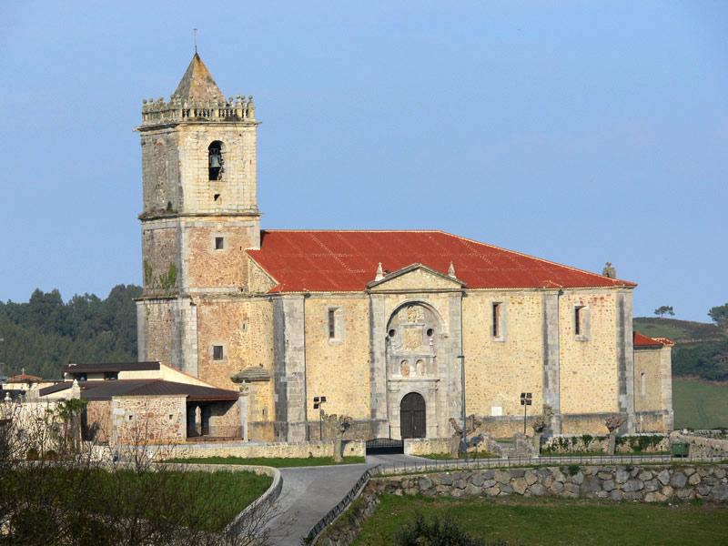iglesia de San Julián y Santa Basilisa isla