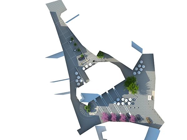 plaza granitos proyecto