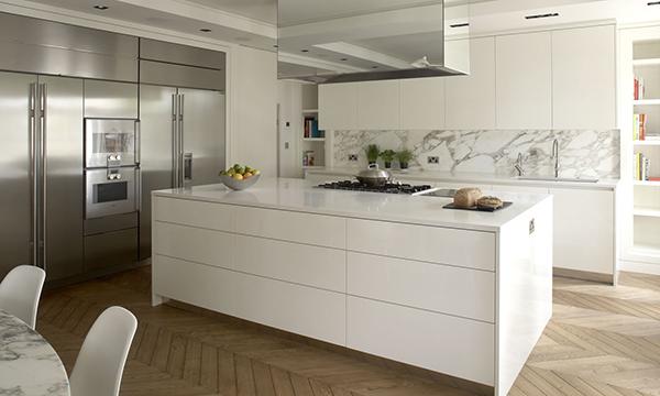 Lu jo cocinas for Cocinas lineales de cuatro metros