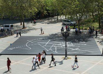 """Einweihung Installation """"Musical Labyrinth"""" von Daniel Libeskind im Rahmen des Konzertprojektes """"One Day In Life"""" der Alten Oper Frankfurt"""