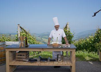 Karlos Arguinano en tu cocina con Dekton Trilium