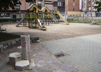 Parque de San Mamés en León. F. Otero Perandones.