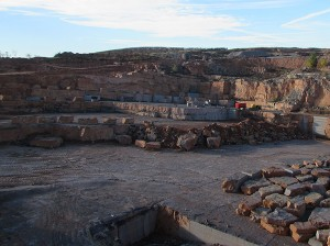 Black Kafe quarry
