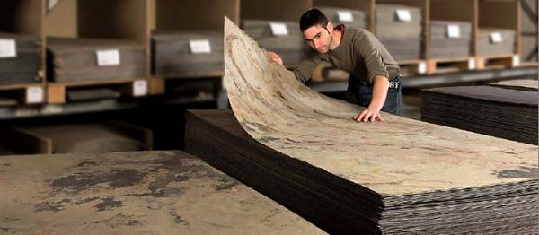 Criterios para elegir l minas de piedra flexible for Laminas de plastico para paredes