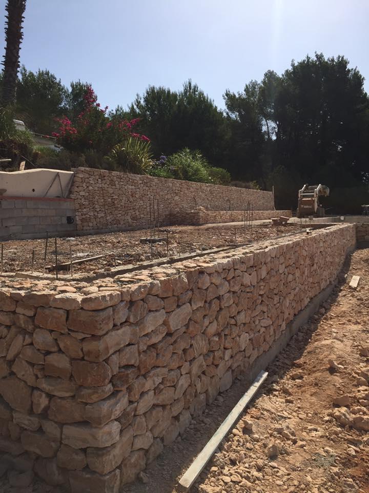 Muros de contencion de piedra muro de contencin en piedra - Muros de piedra ...