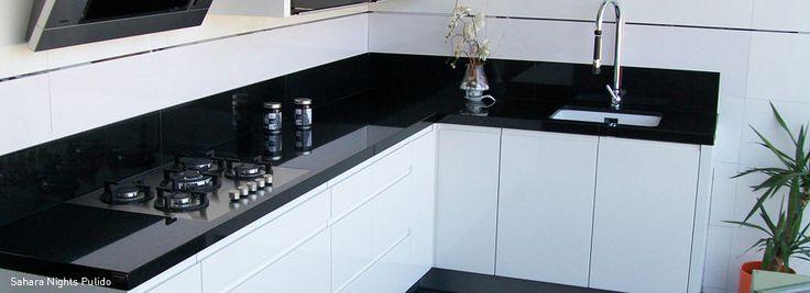 Los 5 top selling para encimeras de cocina de m rmoles tecmar for Granito negro intenso