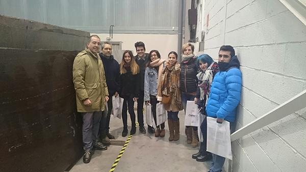 Alumnos de diseño visitan CUPA STONE Alpina