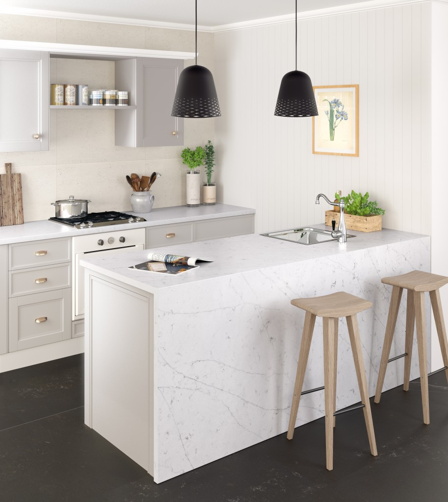 Silestone®-Eternal-Statuario_Kitchen-914x1024