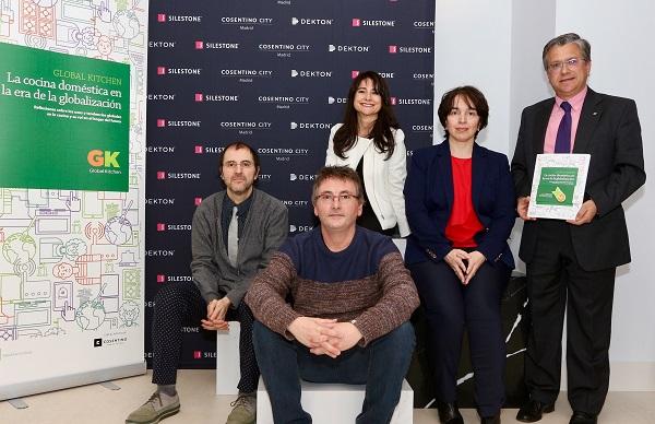 Presentacioìn Global Kitchen con Juli Capella, Andoni Luis Auriz, Beatriz Romanos, Anabel Rodriìguez y Santiago Alfonso