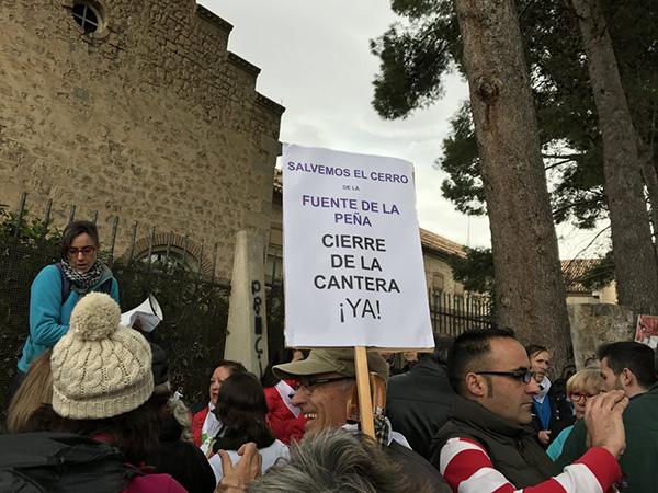 protestas cantera