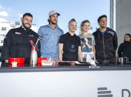 Foto Open 2016_Cosentino Sergio Perez&Felicia Lopez&David Muñoz&Eugenie Bouchard&Fernando Verdasco