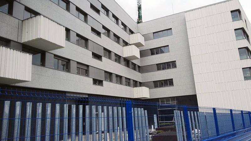 fachada ventilada granito gris zamar