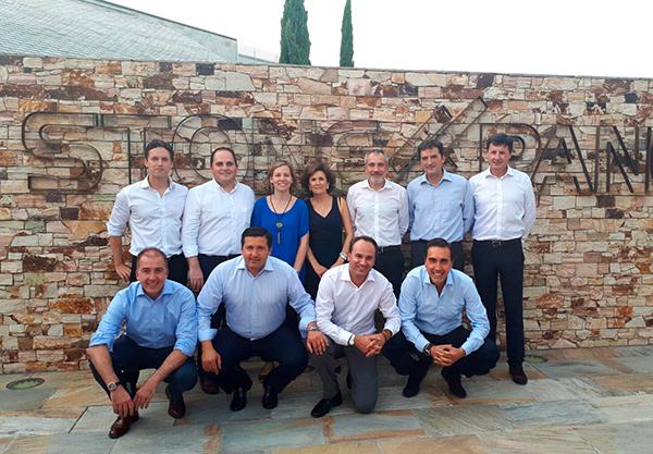 Directivos de Cupa Stone y Cupa Group