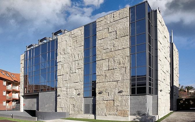 fachada granito gris alba