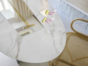 Casa Decor Madrid 17 BLOSSOM STUDIO PATRICIA BUSTOS MOBILIARIO CALACATTA