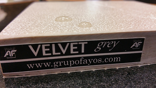 velvet grey fayos