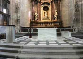 altar catedral de segovia