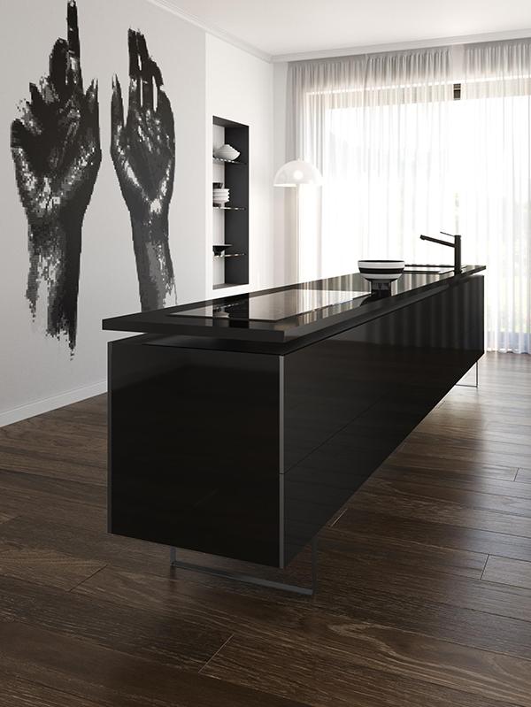 Silestone Kitchen EU - color Iconic Black