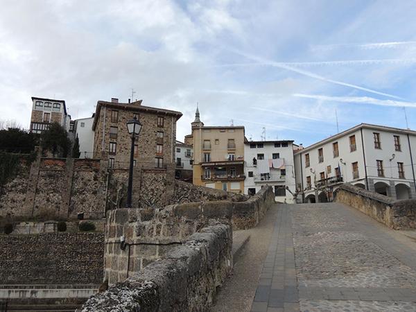 calle Sagasta en Torrecilla en Cameros
