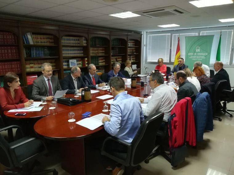 reunion junta andalucia