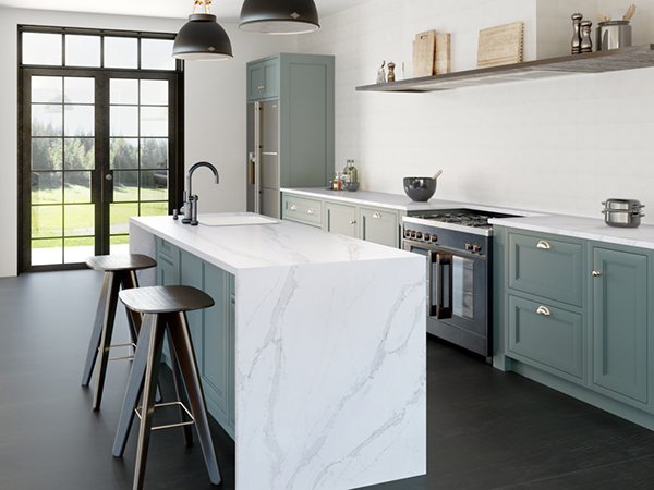 Silestone®-Kitchen-Eternal-Calacatta-Gold