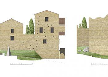 08_Alzado Puerta de la Coria y Muralla