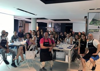 Aula + Showcooking en Cosentino Valencia Center (1)