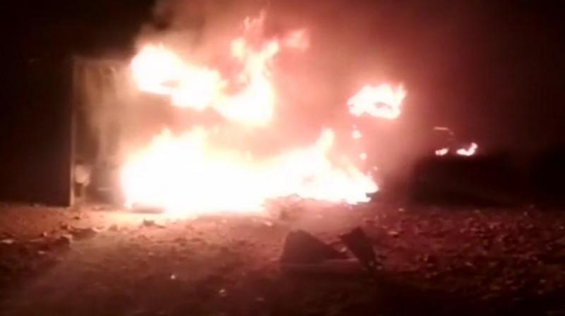incendio cantera india