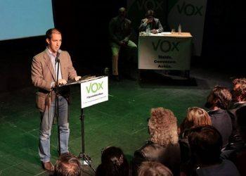 Víctor González, vicepresidente de Vox