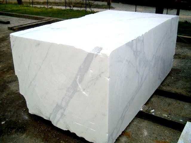 bloque de mármol blanco carrara