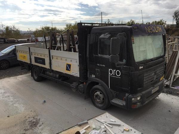 camion espacio pro