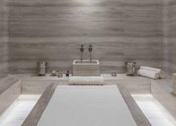 baño hamman con marmol turco