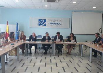 Reunión Consejeros Juan Bravo y Carmen Crespo en AEMA_110719