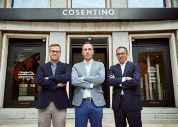Antonio Urdiales_Julio Martin_Ivan Martin _evento Cosentino City Madrid