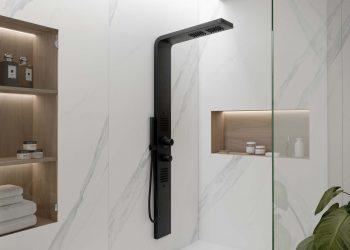 Ambiente ducha revestimiento Dekton Slim Opera (lr)