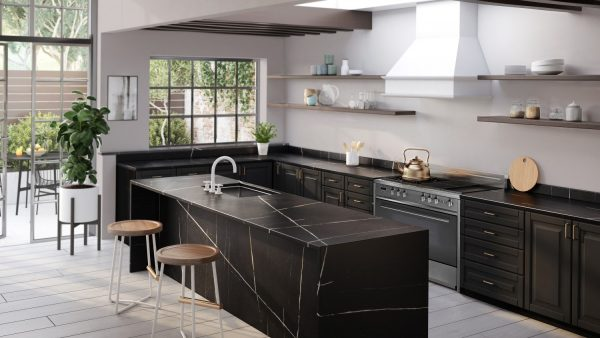 Silestone Eternal Noir - Kitchen _ blog