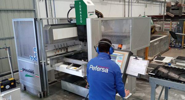macchina TORNADO - Cliente Mármoles PEFERSA