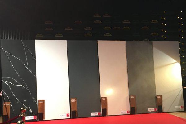 Tablas Silestone en alfombra roja Premios Feroz 2019 2
