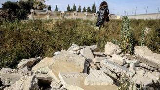 foto restos tumbas